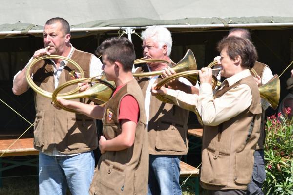 Les Trompes de Chasse de Chatillon : Merci à eux tous