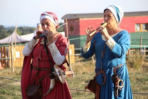 Des musiques du folklore moyenâgeux