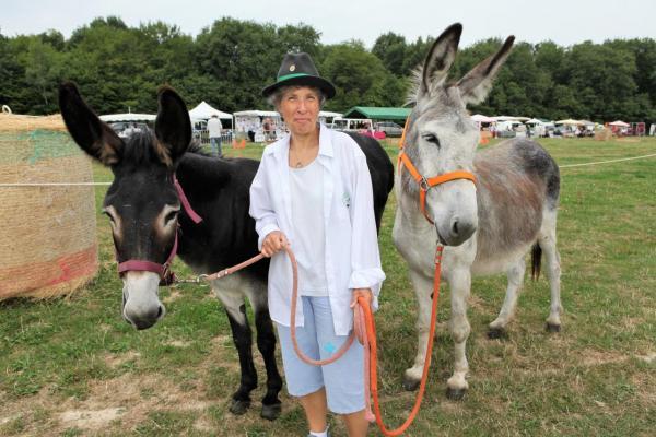 Hélène avec Kabrette et Mayo