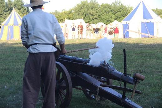 Le tir de canon