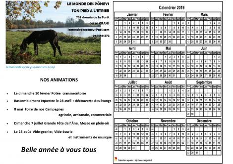 Calendrier des animations 3